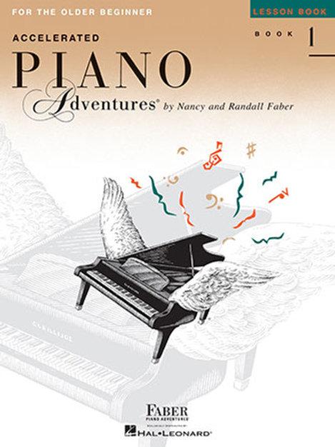 Piano Adventures Acelerado | Grado 1 | Hal Leonard