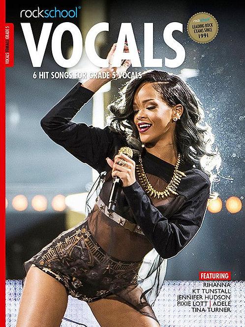 Vocals para mujer | Grado 5 | Rockschool