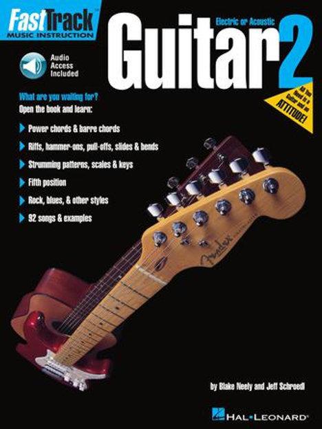 Fast Track Guitarra | Grado 2 | Hal Leonard