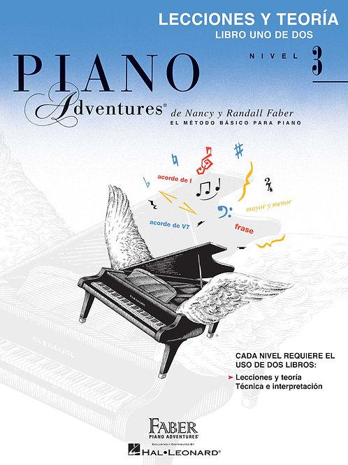 Piano Adventures | Grado 3 | Hal Leonard