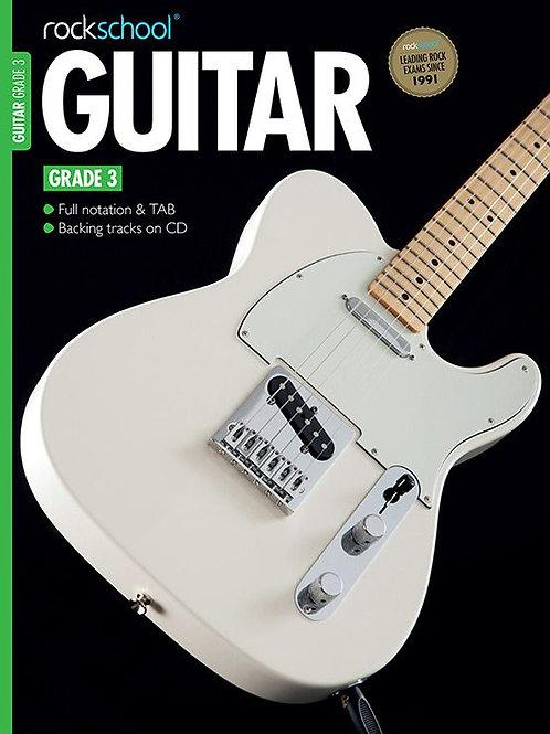 Guitarra Eléctrica | Grado 3 | Rockschool