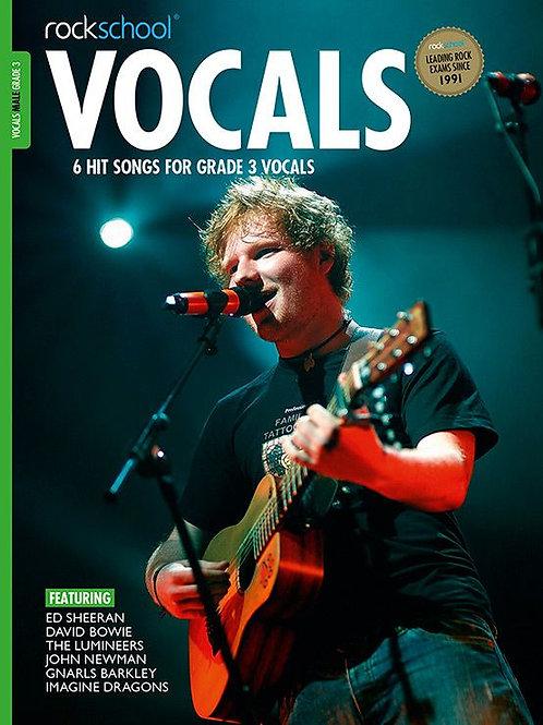 Vocals para hombre | Grado 3 | Rockschool