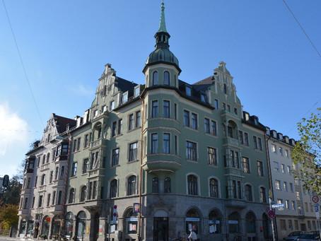 Großzügiges 175 m² Altbau-Büro in Jugendstilaltbau in Sendling - VERMIETET!!!