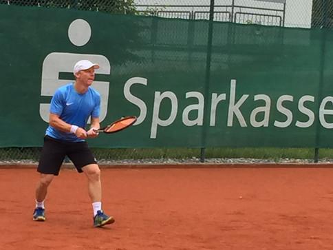 Christian Fuchs vom TCWM erreicht Halbfinale der deutschen Meisterschaft der Herren 40