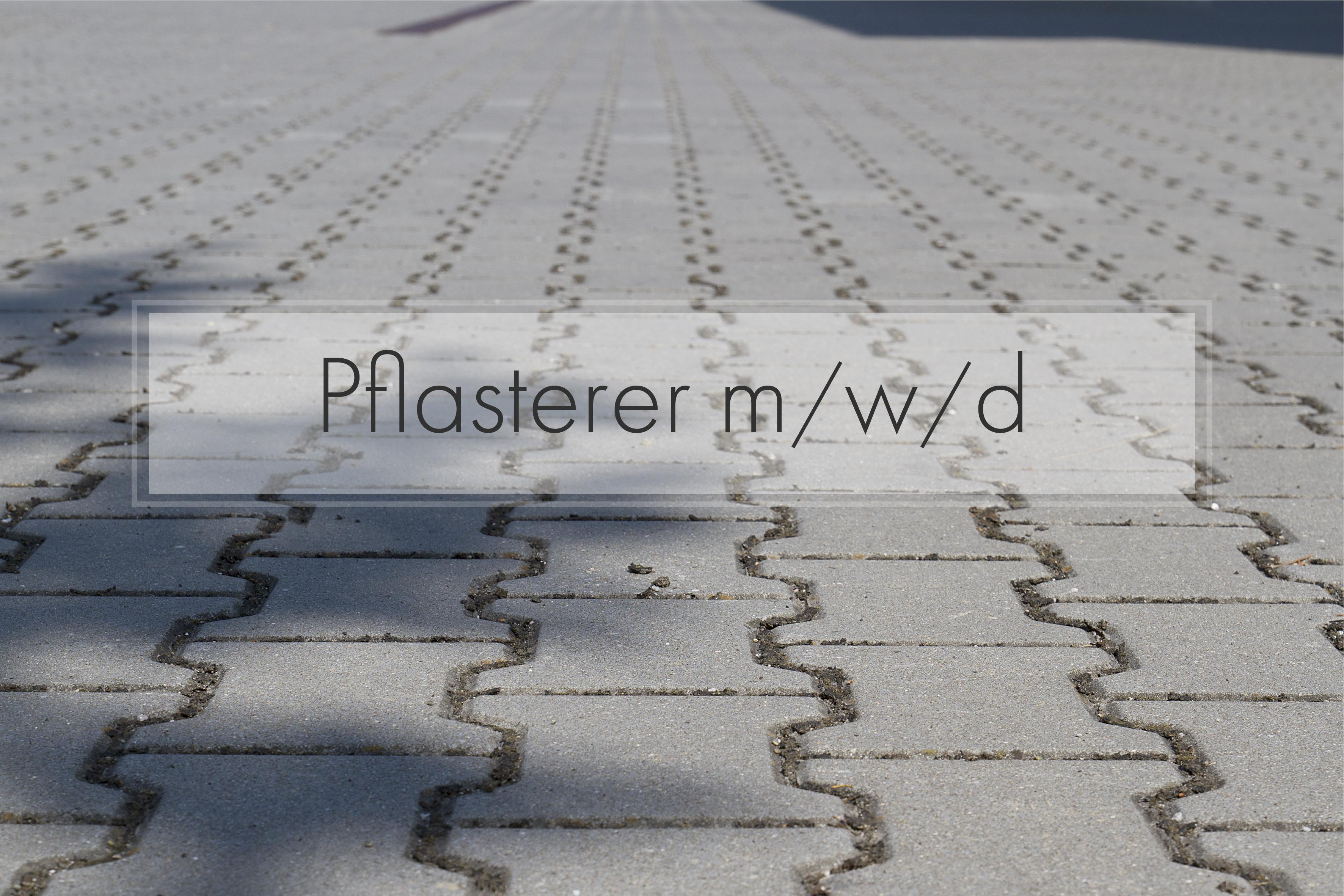 Pflasterer m/w/d