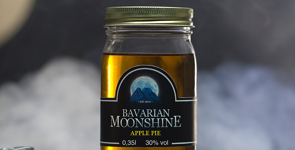 Bavarian Moonshine - Apple Pie 0,35L