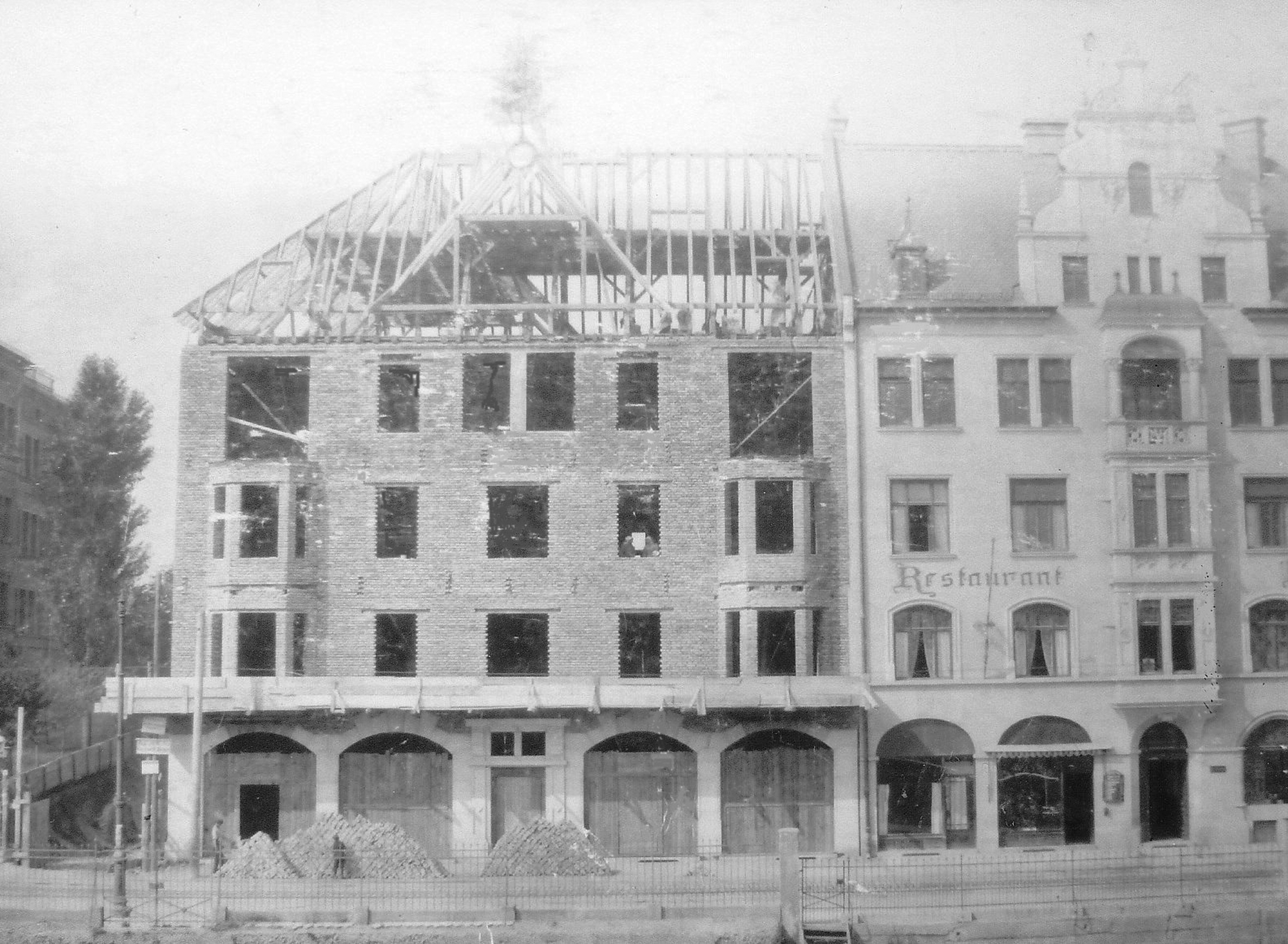 1904 - Aufbau Plinganserstraße 26