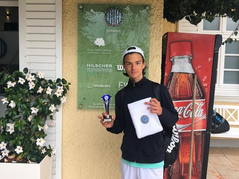 Erfolge für Juniorenspieler Rafael Briegel