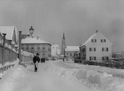 1900 - Winter in Sendling