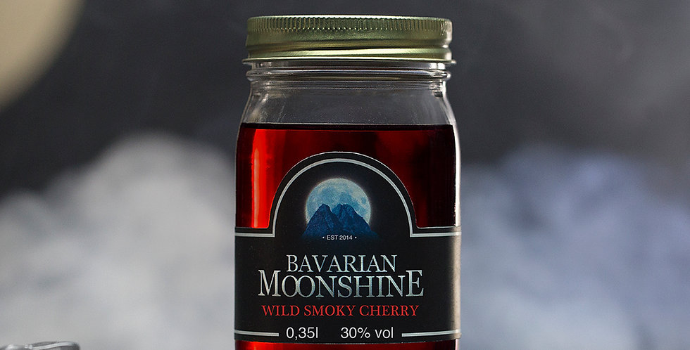 Bavarian Moonshine - Wild Smoky Cherry 0,35L