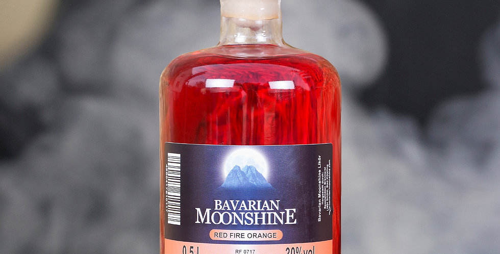 Bavarian Moonshine - Red Fire Orange 0,5L