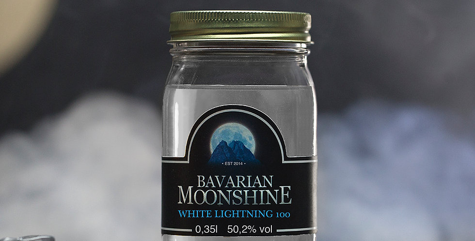 Bavarian Moonshine - White Lightning 100 0,35L