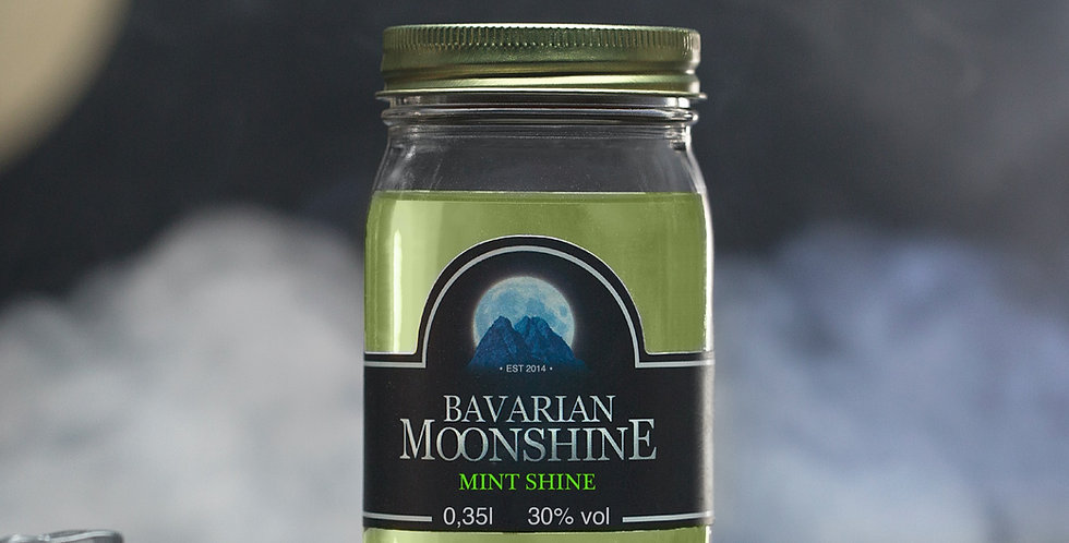 Bavarian Moonshine - Mint Shine 0,35L