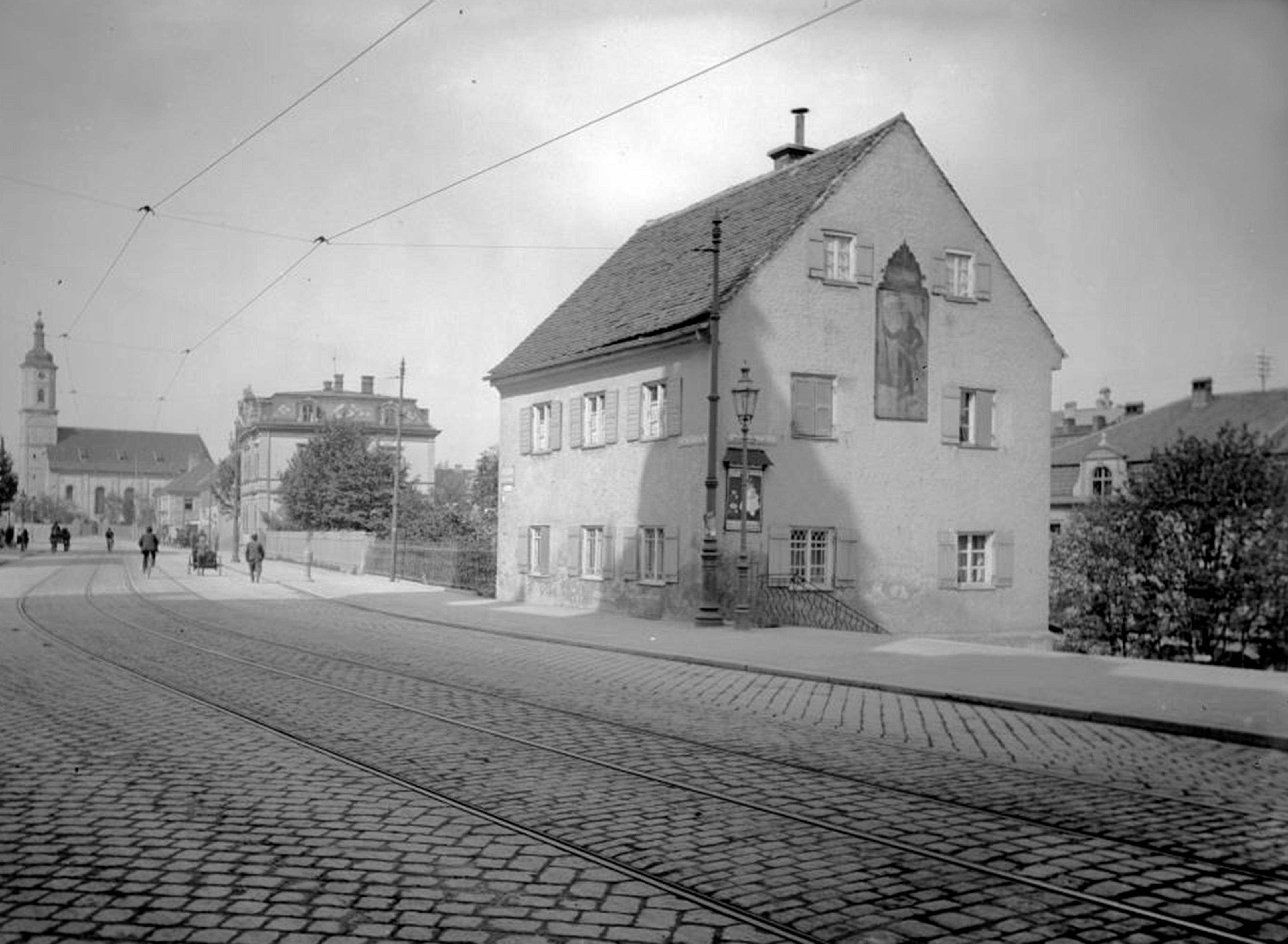1912 - Alte Tramstrecke 22