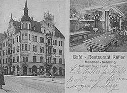 1910 - Café Restaurant Kafler