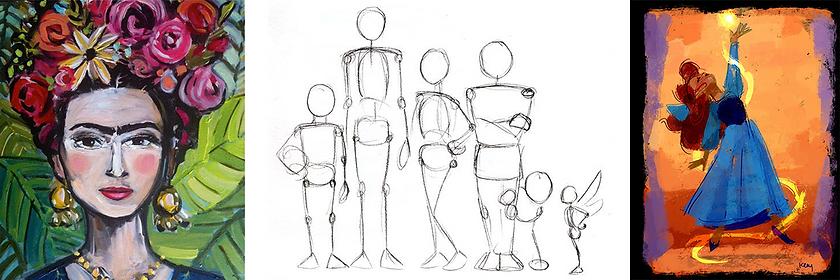 Žmogaus tapymas vaikas