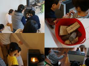 10月21日(開催レポート) 暮らしにいいもの研究会 ~暖をとる①~ まずは点けましょう☆