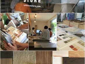 9月13日(開催レポート) ちいさな家研究会 ~床材コンシェルジュ~ ずらっとサンプル!