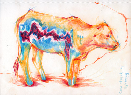 Lightning Cow
