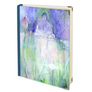 Sitting By Lotus Pond A5 Hand Bound Journal