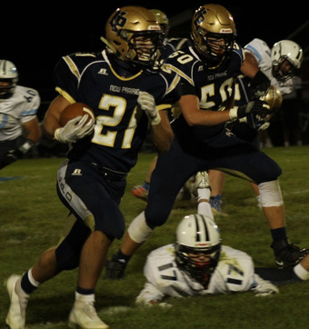 Siford gives New Prairie backfield a boost
