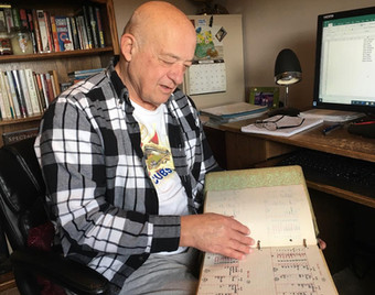 A man of many numbers: Statistician Nuest hasn't missed a Kouts boys basketball game in 53 years