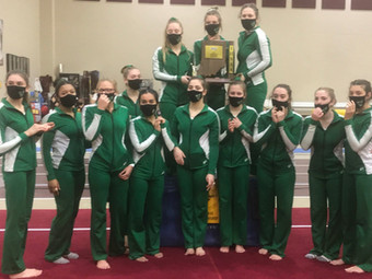 Stickin' it: Valpo uses strong balance beam finish to capture Chesterton Sectional title