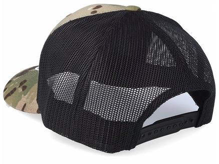 Multicam trucker caps bakside