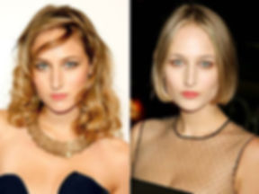 Actress Leelee Sobieski: Before & After Haircuts by Alan Adler