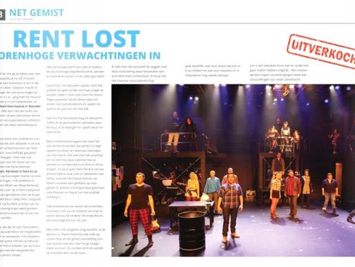 REVIEW: RENT – Broadway of Antwerp