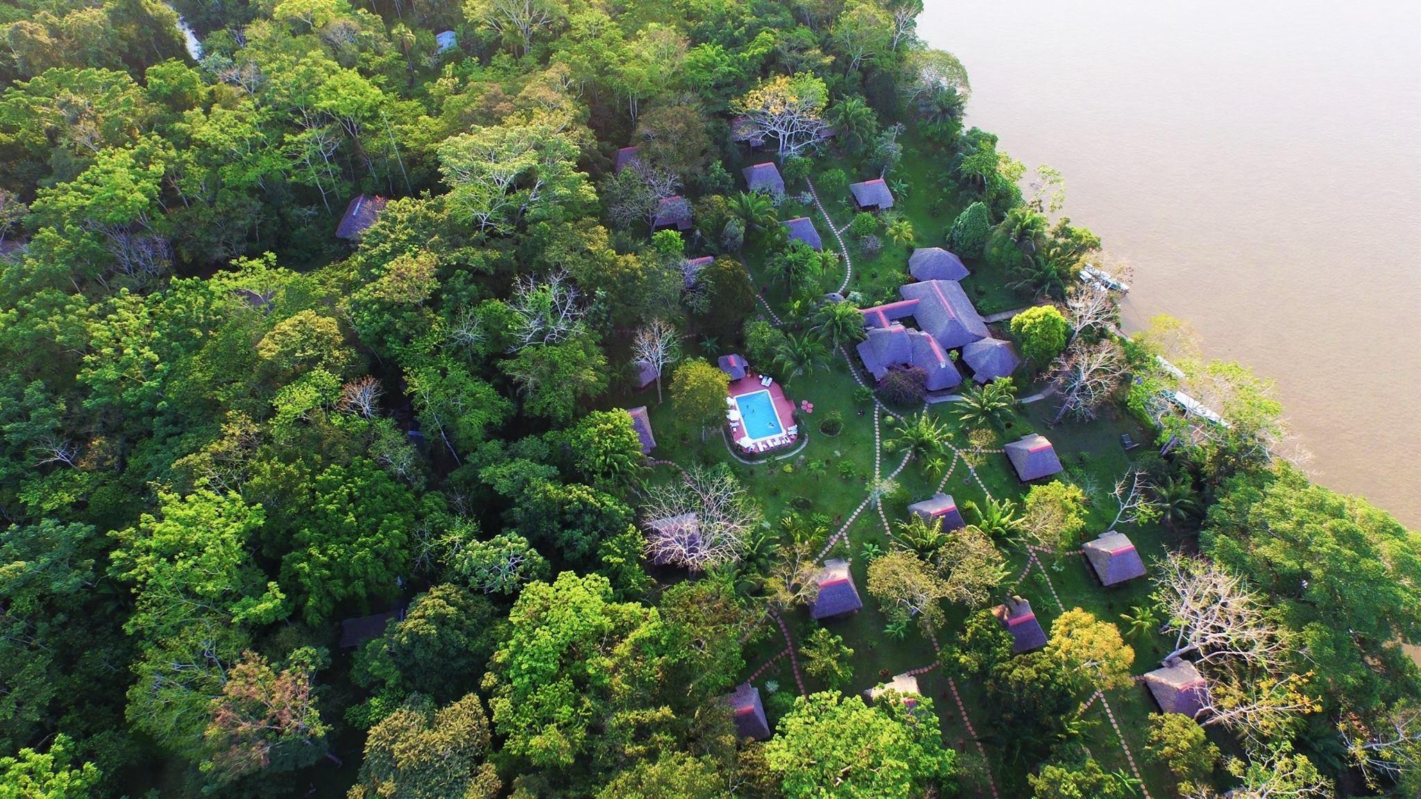 Vista aérea de Corto Maltes Amazonia