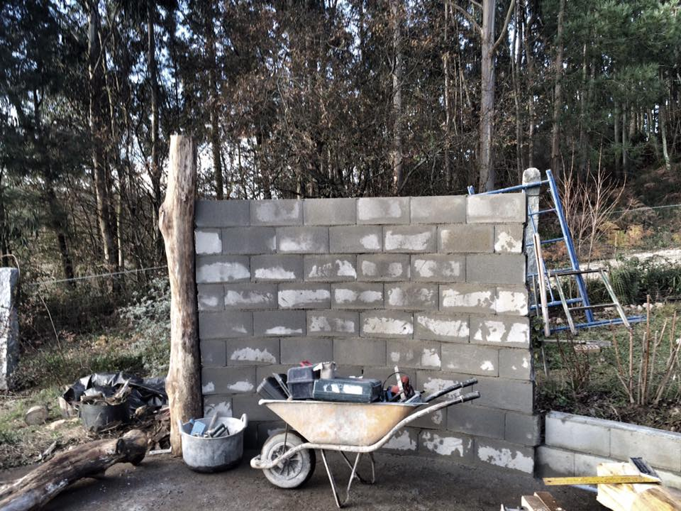 Construyendo el templo