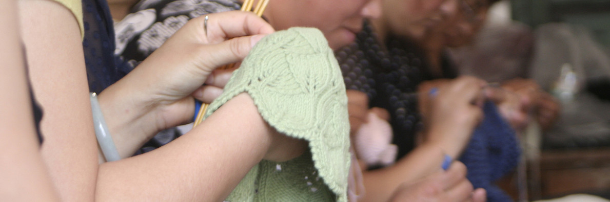 Empowering local women through a knitting cooperative