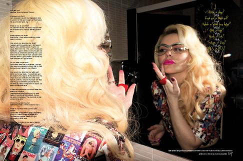 Ridicilous Magazine x  Jasmine Furelid