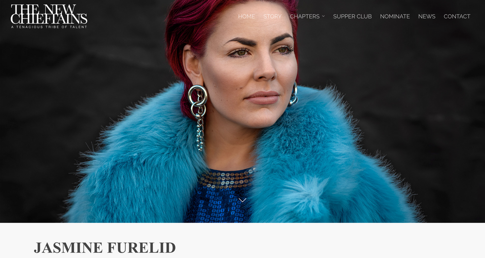 The New Chieftans x Jasmine Furelid