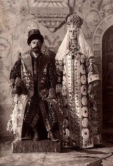 Last Russian Tsar's Ball of 1903 year.