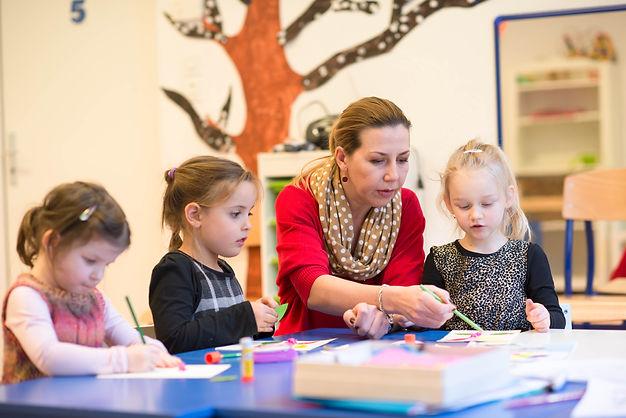 Начальная школа и детский сад в Швейцарии