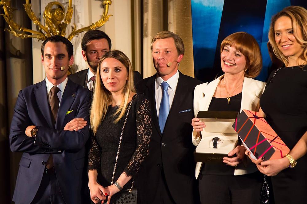 Елена Газанова-лучший предприниматель Jelena Gaszanova-award 2014