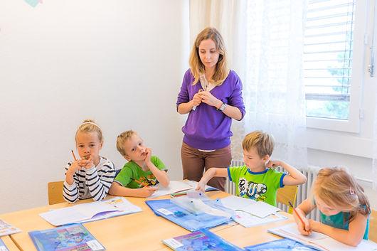русская школа, Женева, дети, Синяя Птица