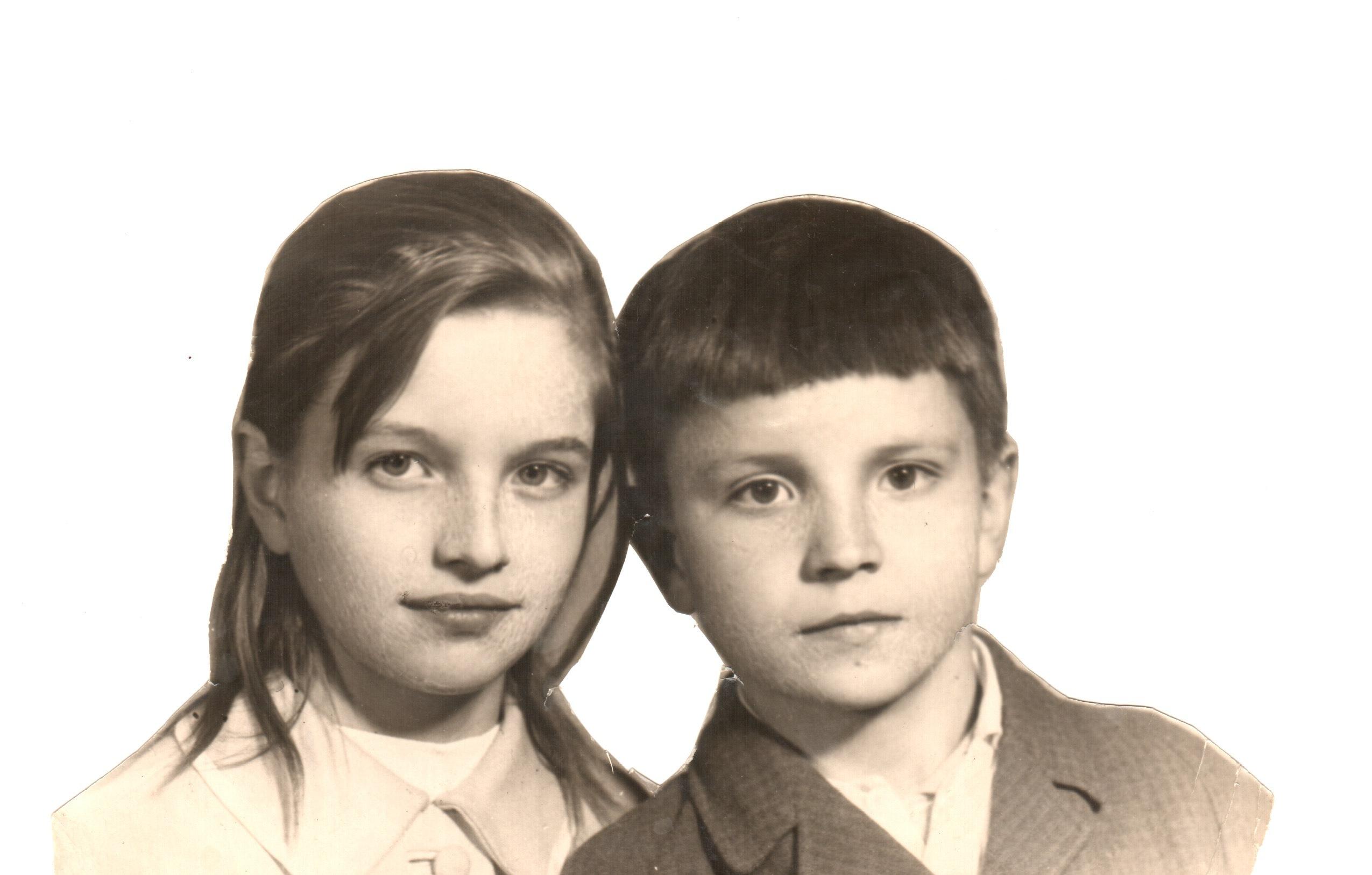 Лена + Миша (давно)