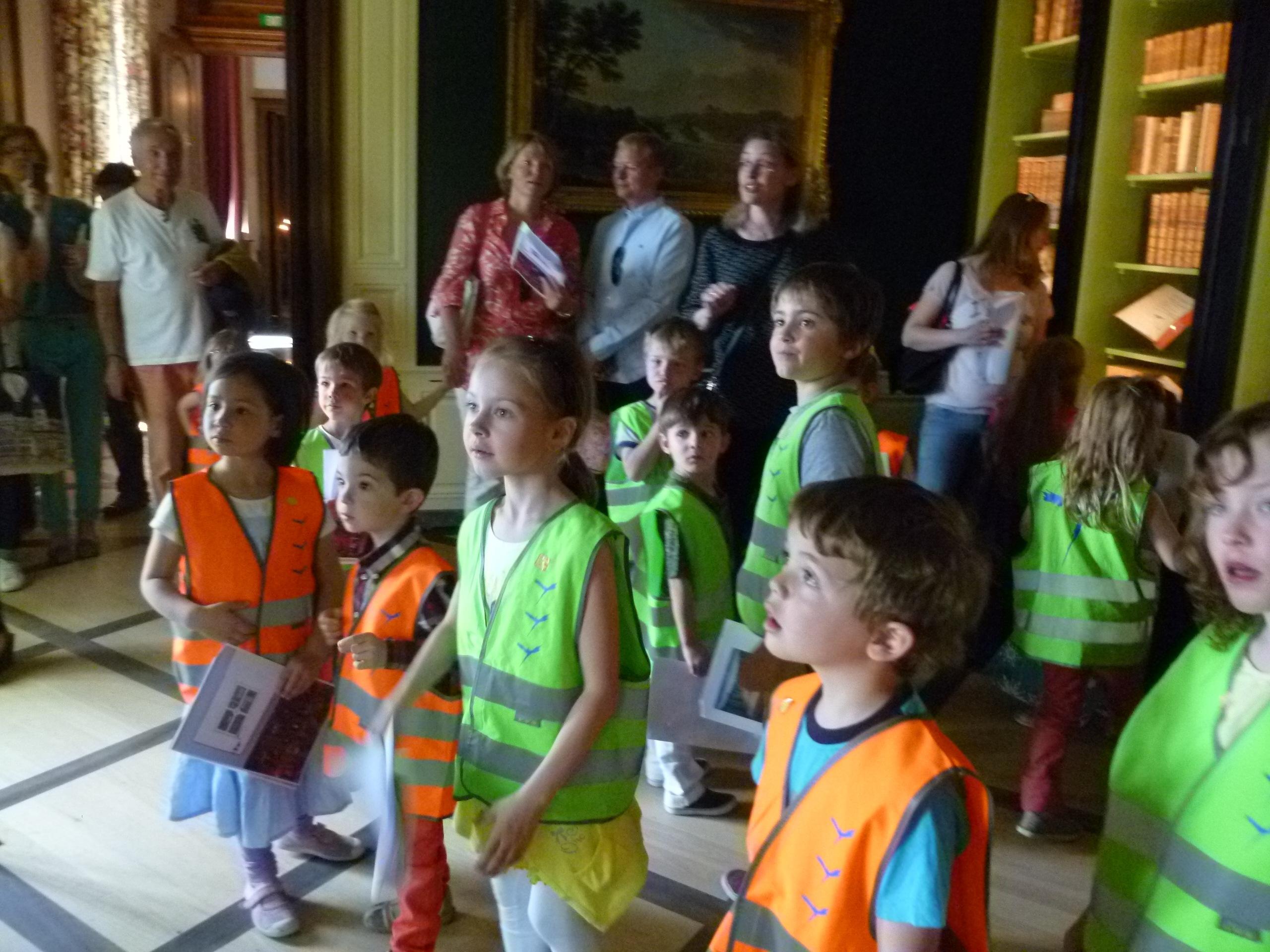 Экскурсия замок Prangins 2015