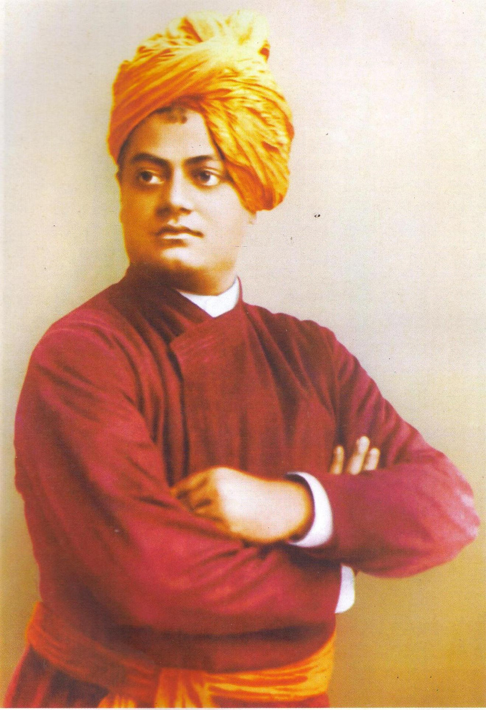 Swami Vivekananda was an Indian monk who introduced the philosophy of Yoga and Vedanta to the Western world. His lectures, writings and teachings are the major source of inspiration for most of the youth study circles, organizations and service projects.