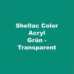 Text_on_Pic_Shellac_Color_Acryl_Grün-Tra