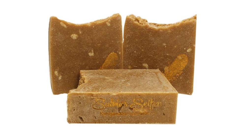 Rasierseife, Bartpflege, Naturseife, natürliche Seife, Salvias Seifen, Seife sensible Haut, Olivenölseife, Grüntee Extrakt