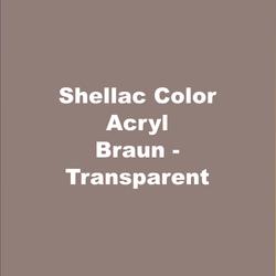 Text_on_Pic_Shellac_Color_Acryl_Braun_Tr