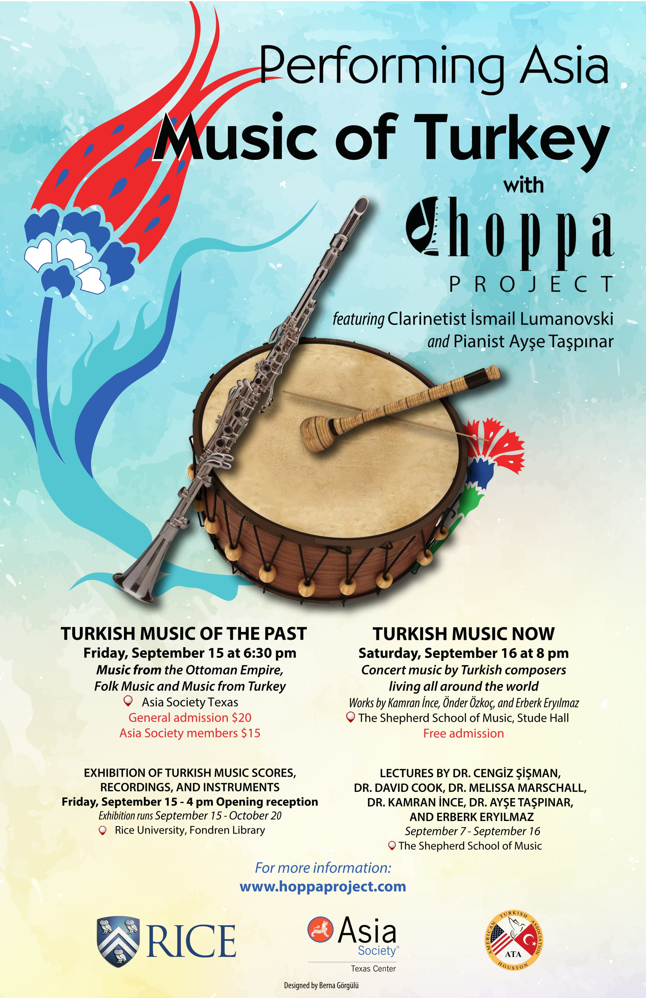 Poster- Performing Asia Music of Turkey.