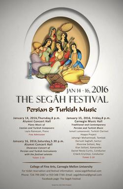 The Segah Festival Flyer