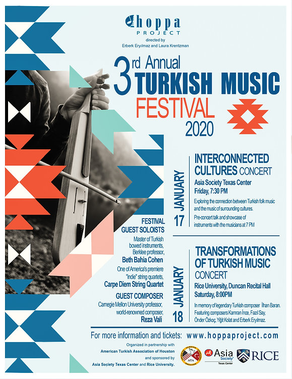 Hoppa Project's 3rd Annual Turkish Music