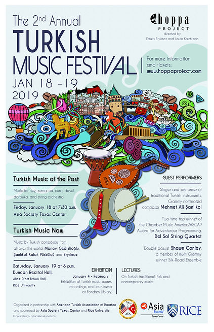The 2nd Annual Turkish Music Festival -