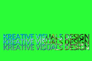 KV Palm Tree Typography